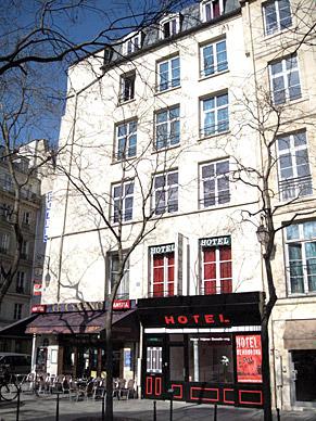 Hôtel du Séjour Beaubourg.
