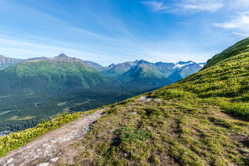 Alaska-Chugach-Mountains-hike ▷ 7 cosas que hacer en Anchorage, Alaska