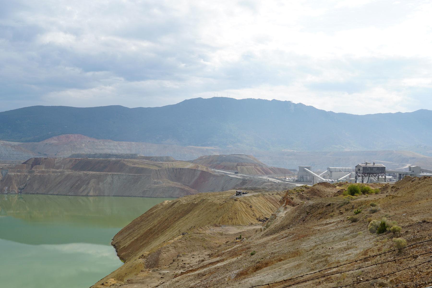 Berkeley Pit Montana Butte