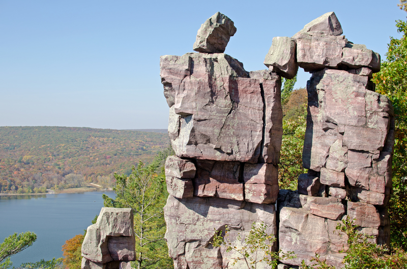 Devils lake wisconsin