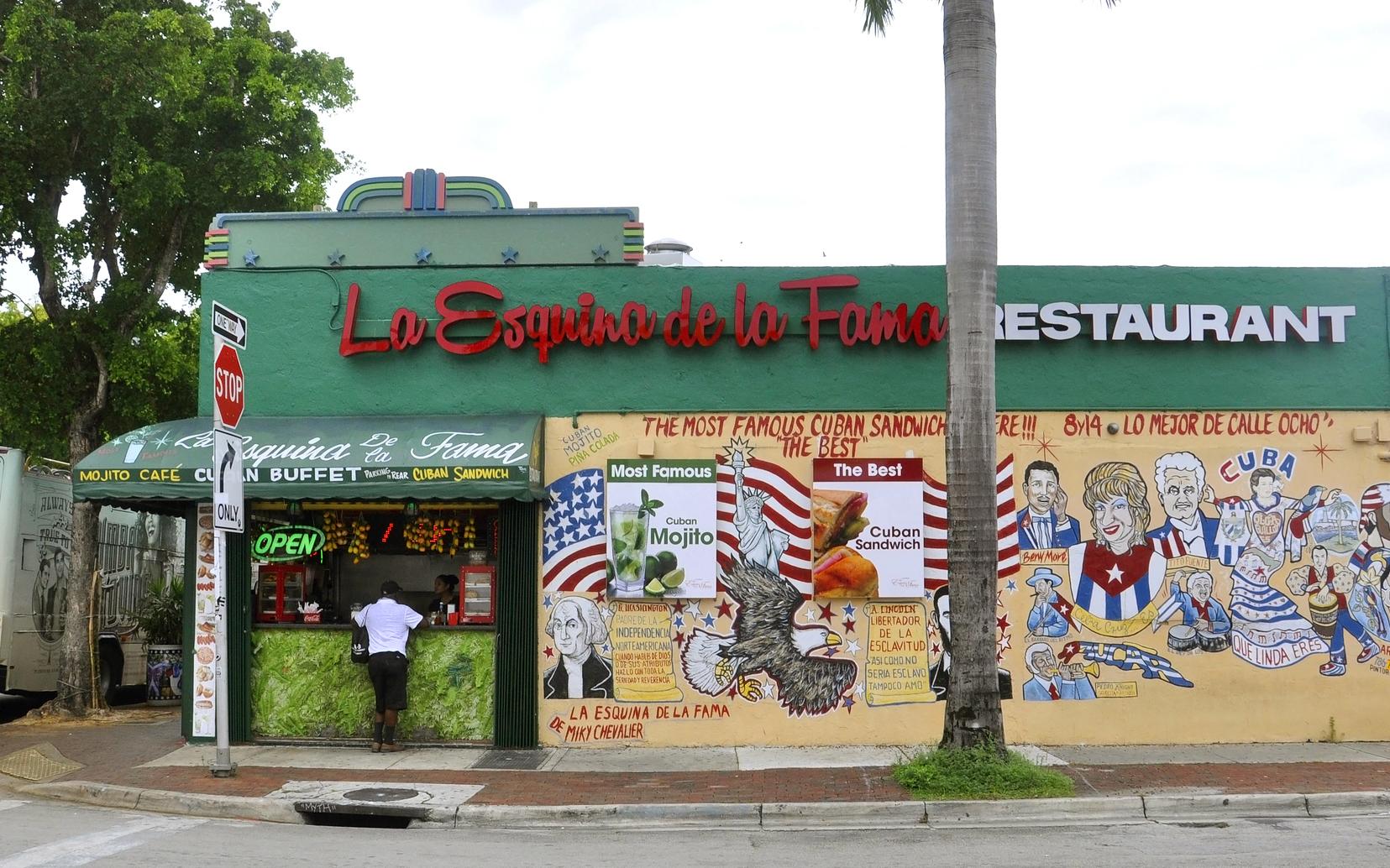 restaurant on corner