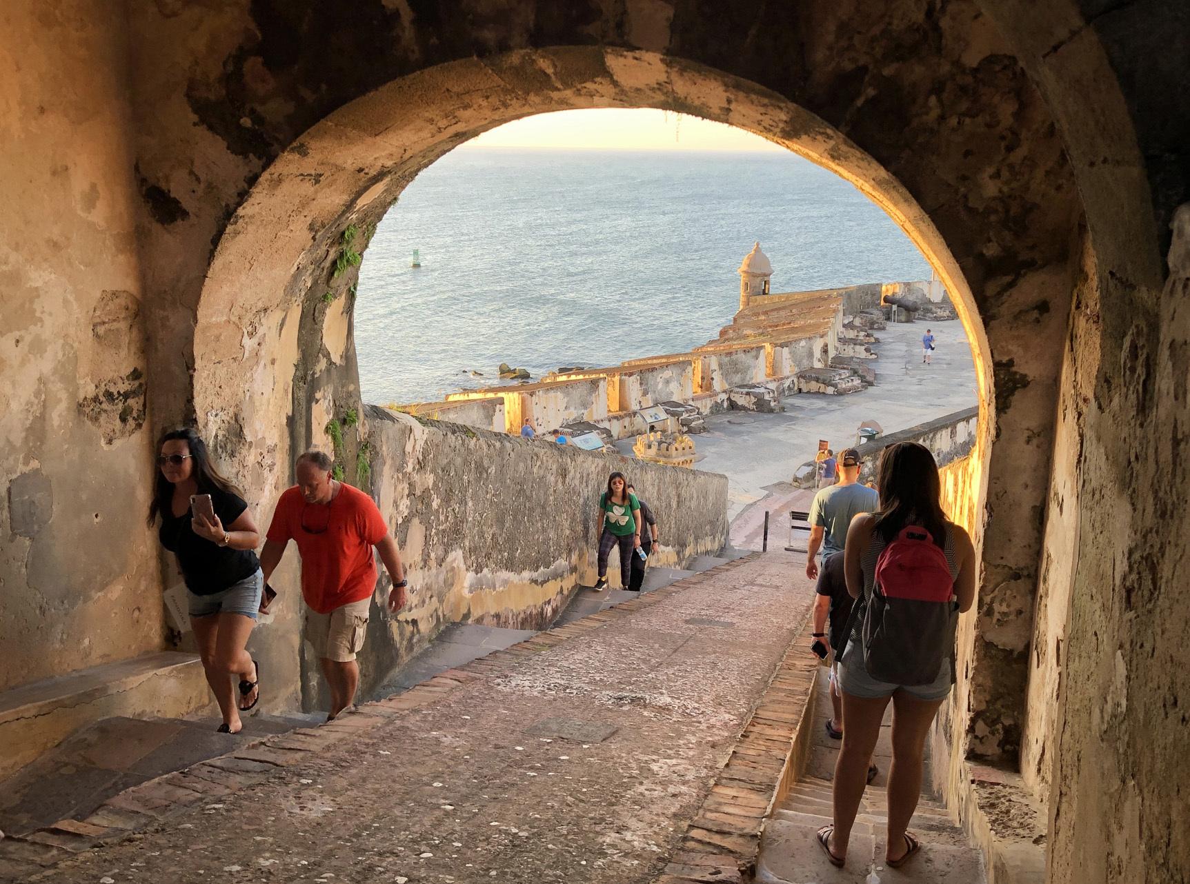 Puerto-Rico-El-Morro-tunnel ▷ Acabo de volver de: San Juan, Puerto Rico