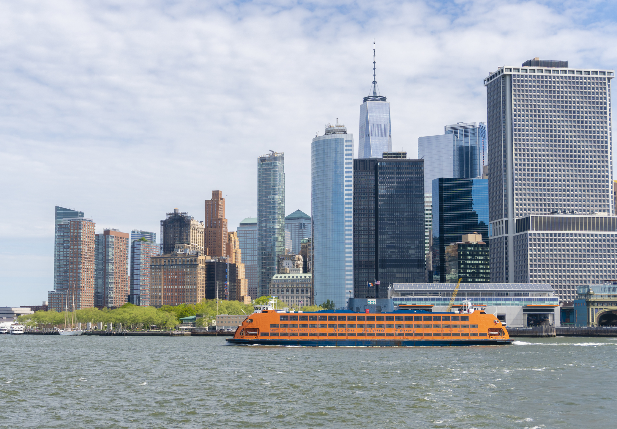 Staten-Island-Ferry-Lower-Manhattan-New-York-City ▷ 7 cosas que hacer en Staten Island, Nueva York
