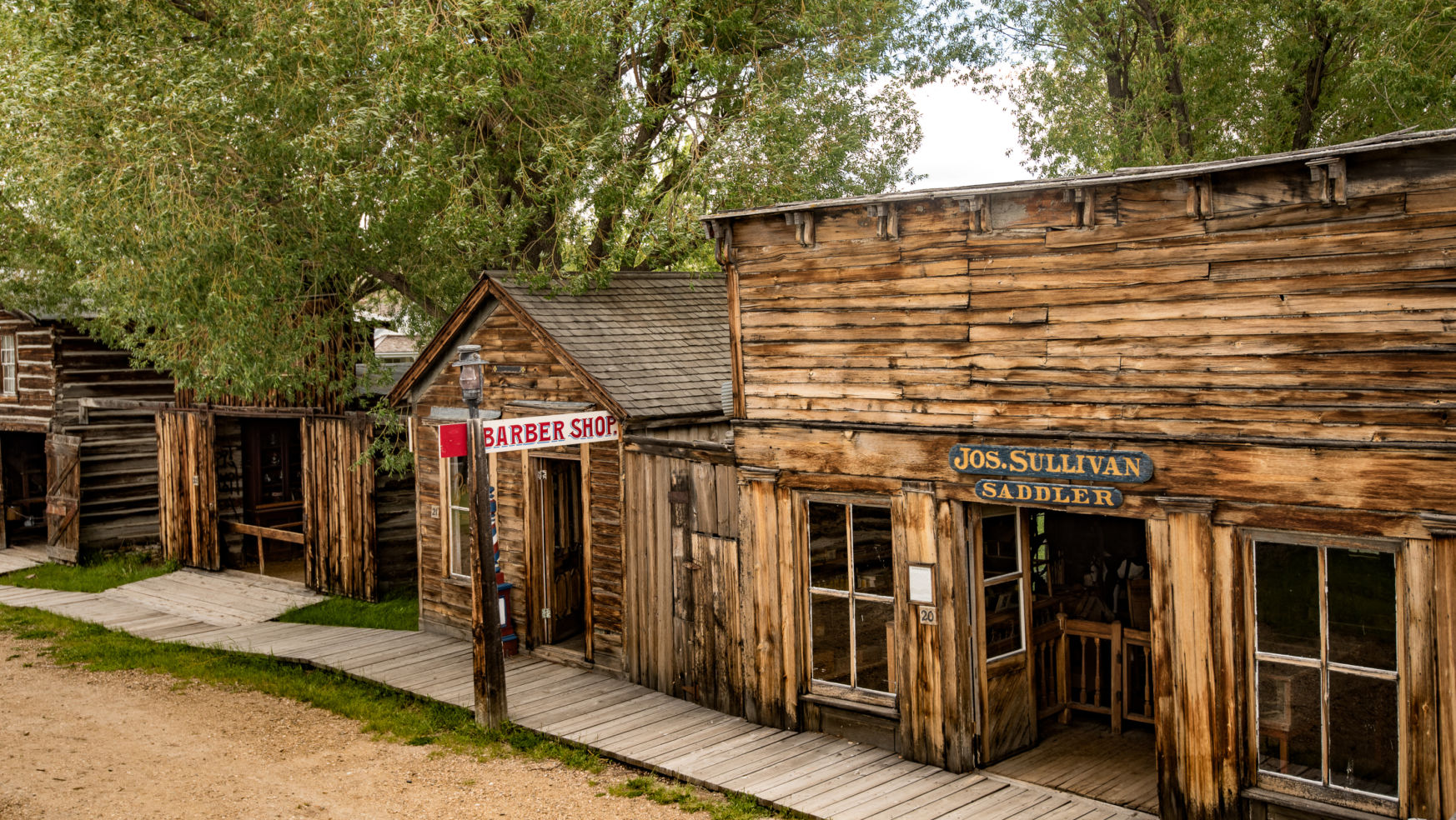 Nevada city ghost town