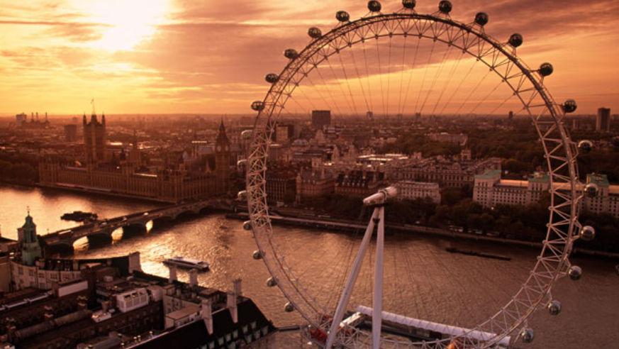 10mostvisitedcities London Londoneye