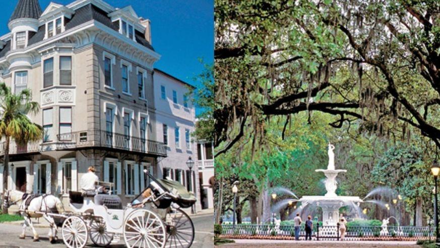 Southern Smackdown Savannah Vs Charleston Budget Travel
