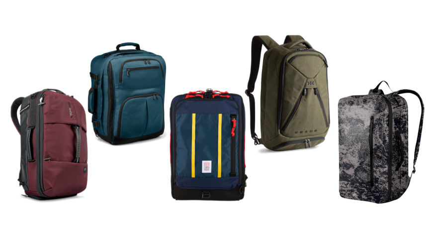 5 Carry-On Backpacks for Every Kind of Trip