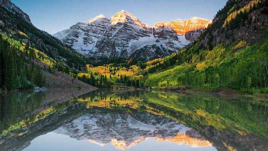 Maroon Bells Lake Colorado