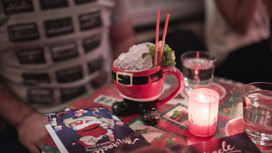 The Pop-Up Bar That Christmas Dreams Are Made Of