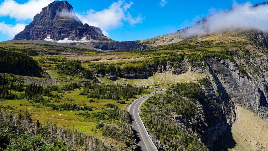 Us Scenic Drives Glacier Lb