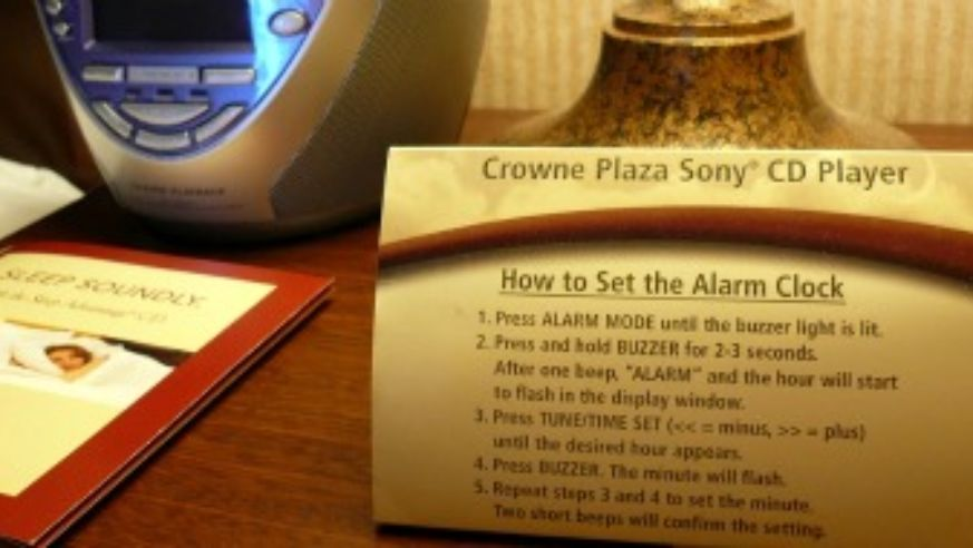 Hotel Alarm Clocks: A Waste of Time?   Budget Travel