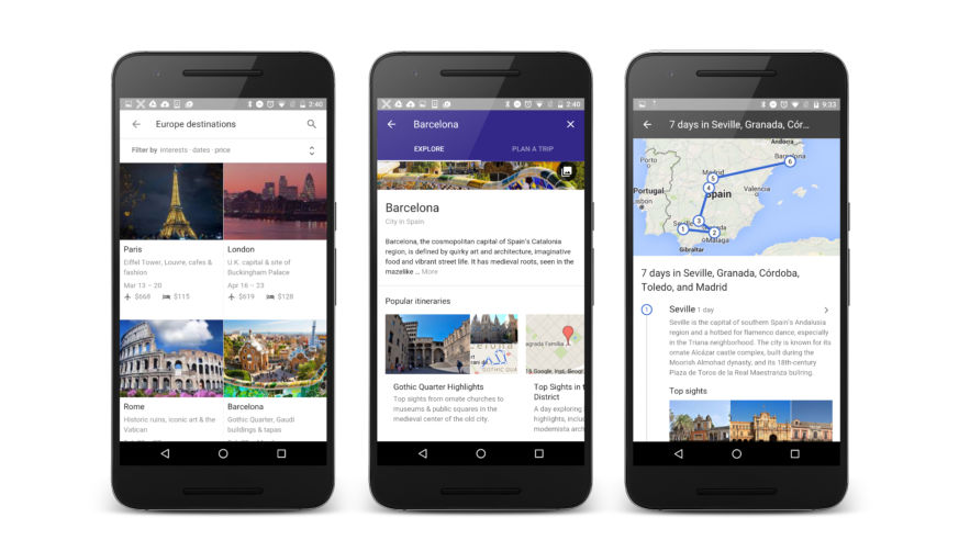 Now Google Can Plan Your Entire Vacation in One Click