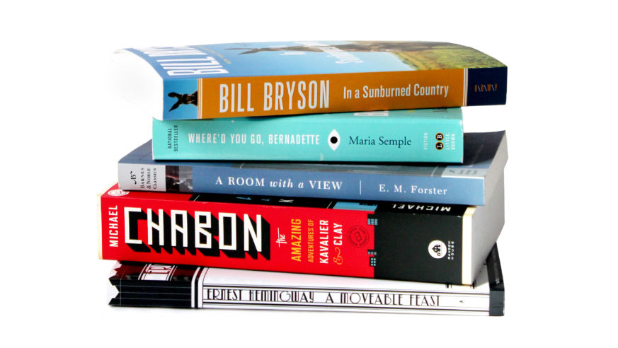 #BTReads: Our Favorite Travel Books