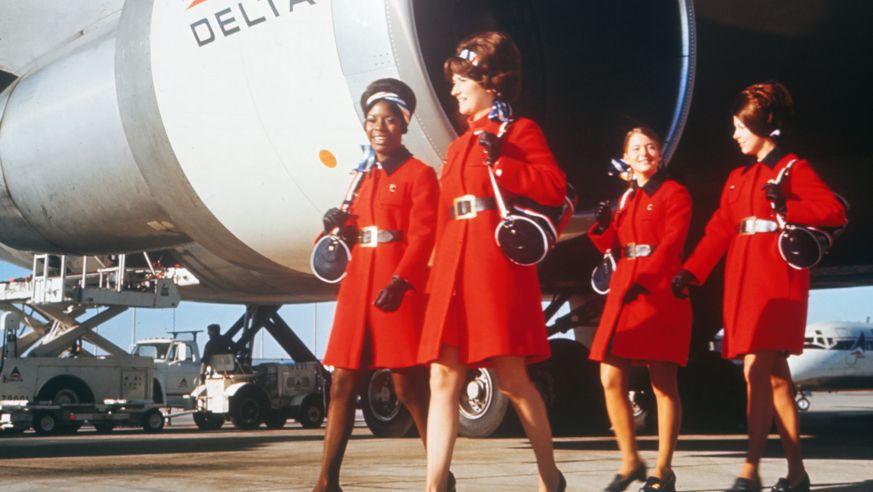 Budget Travel   Flight Attendant Fashion Gets an Upgrade