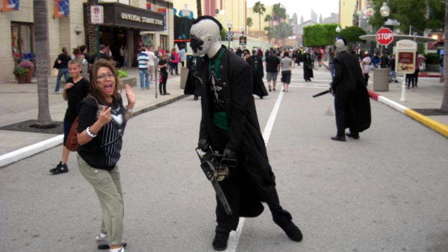 halloween horror nights at universal orlando - Halloween Horror Night Theme