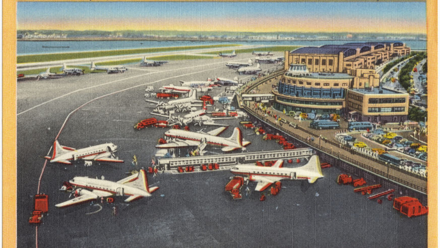 Vintage Travel: Eating at the Airport in 1941 | Budget Travel
