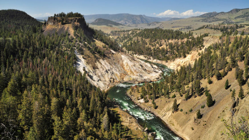 Park to park adventure glacier to yellowstone budget travel river yellowstone national park publicscrutiny Images