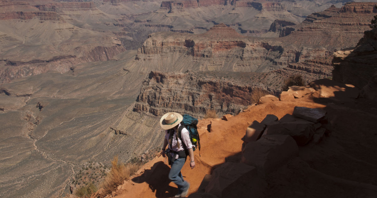 "A Grand Canyon park ranger's plea to the public: ""please, stay home!"" 