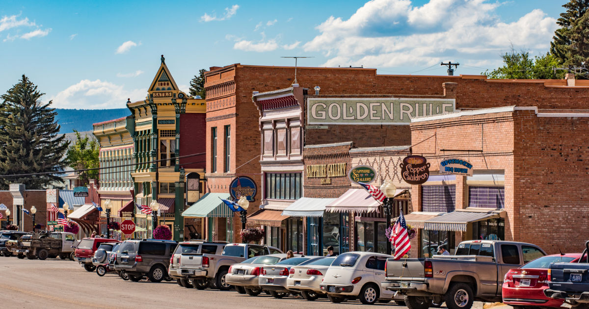 Get To Know Philipsburg Mt One Of The Coolest Small Budget Travel