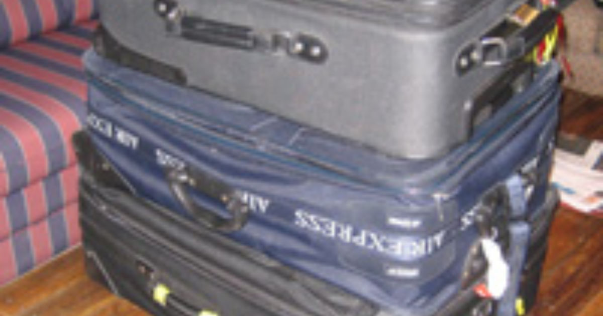 Introducing The 450 Checked Baggage Fee Budget Travel