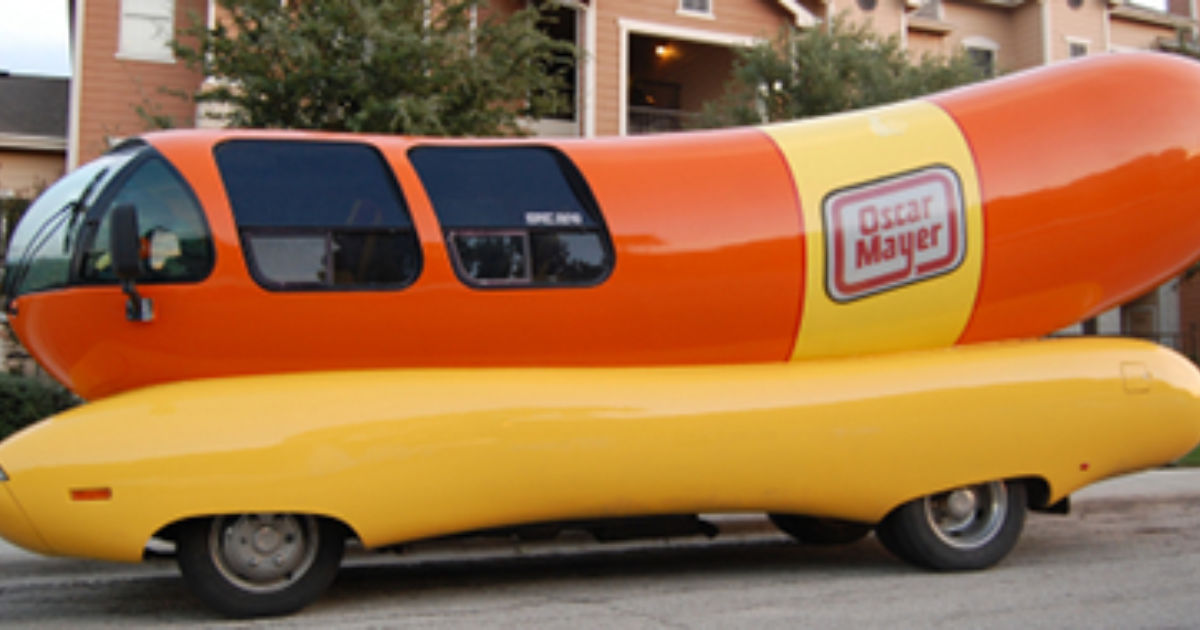 confessions of an oscar mayer wienermobile driver budget travel. Black Bedroom Furniture Sets. Home Design Ideas