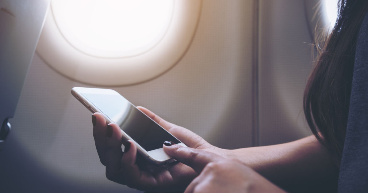 What Happens If You Don't Put Your Phone on Airplane Mode on A… | Budget Travel