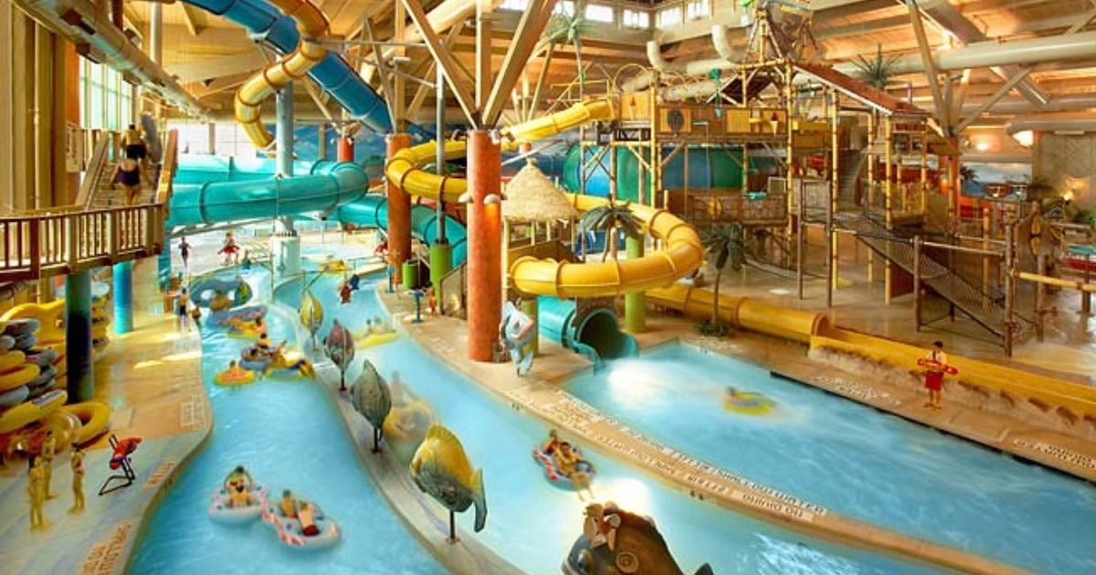 Top 10 indoor water parks in the u s budget travel - Camping near me with swimming pool ...