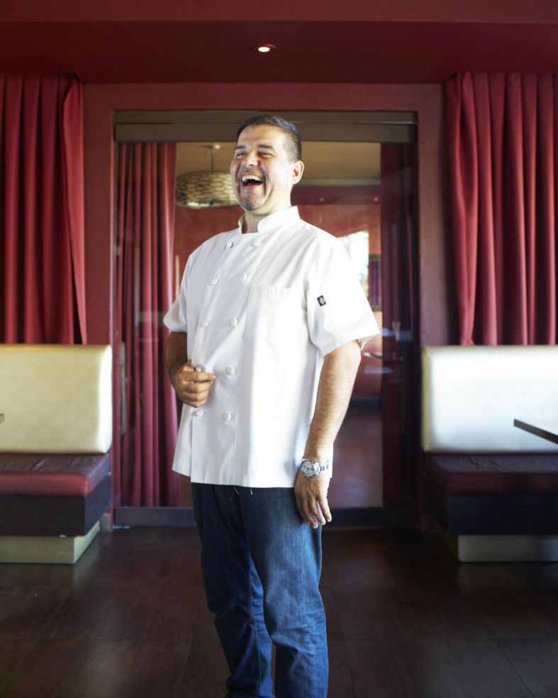 The chef from restaurant Budatai in San Juan, Puerto Rico.