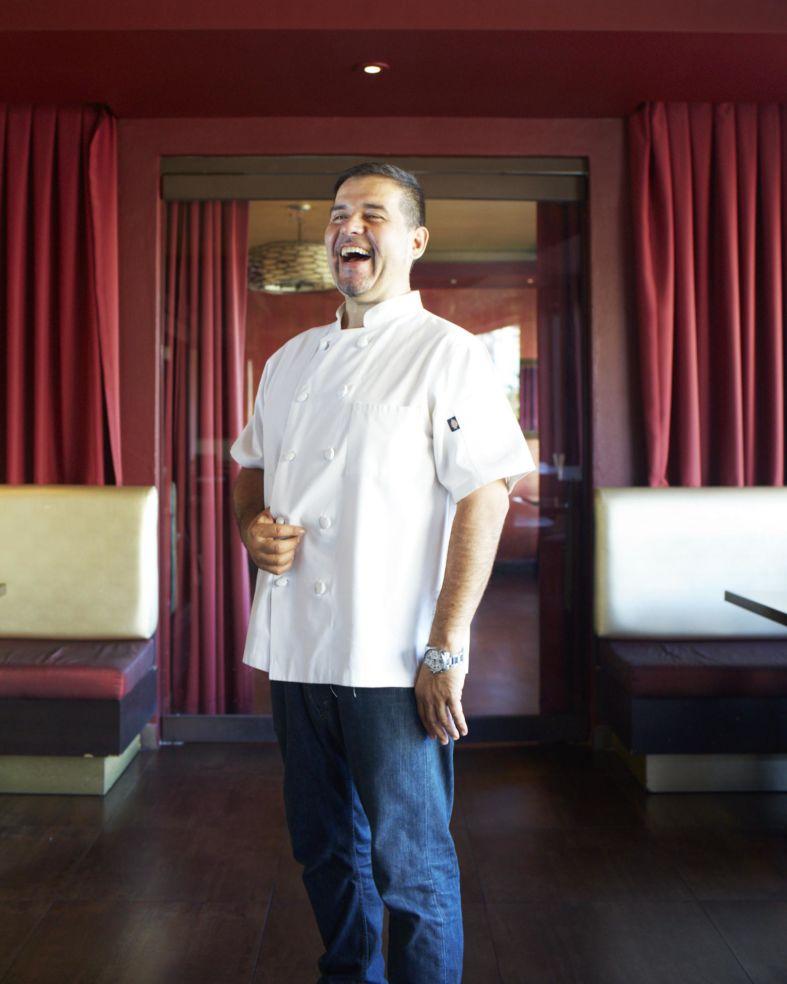 The chef from restaurant Budatai in San Juan, Puerto Rico.