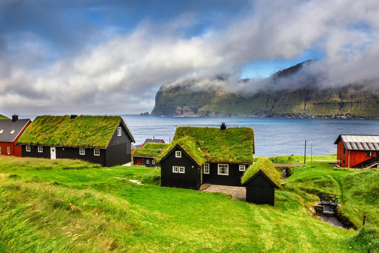 Mikladalur, Kalsoy, Faroe Islands, Denmark