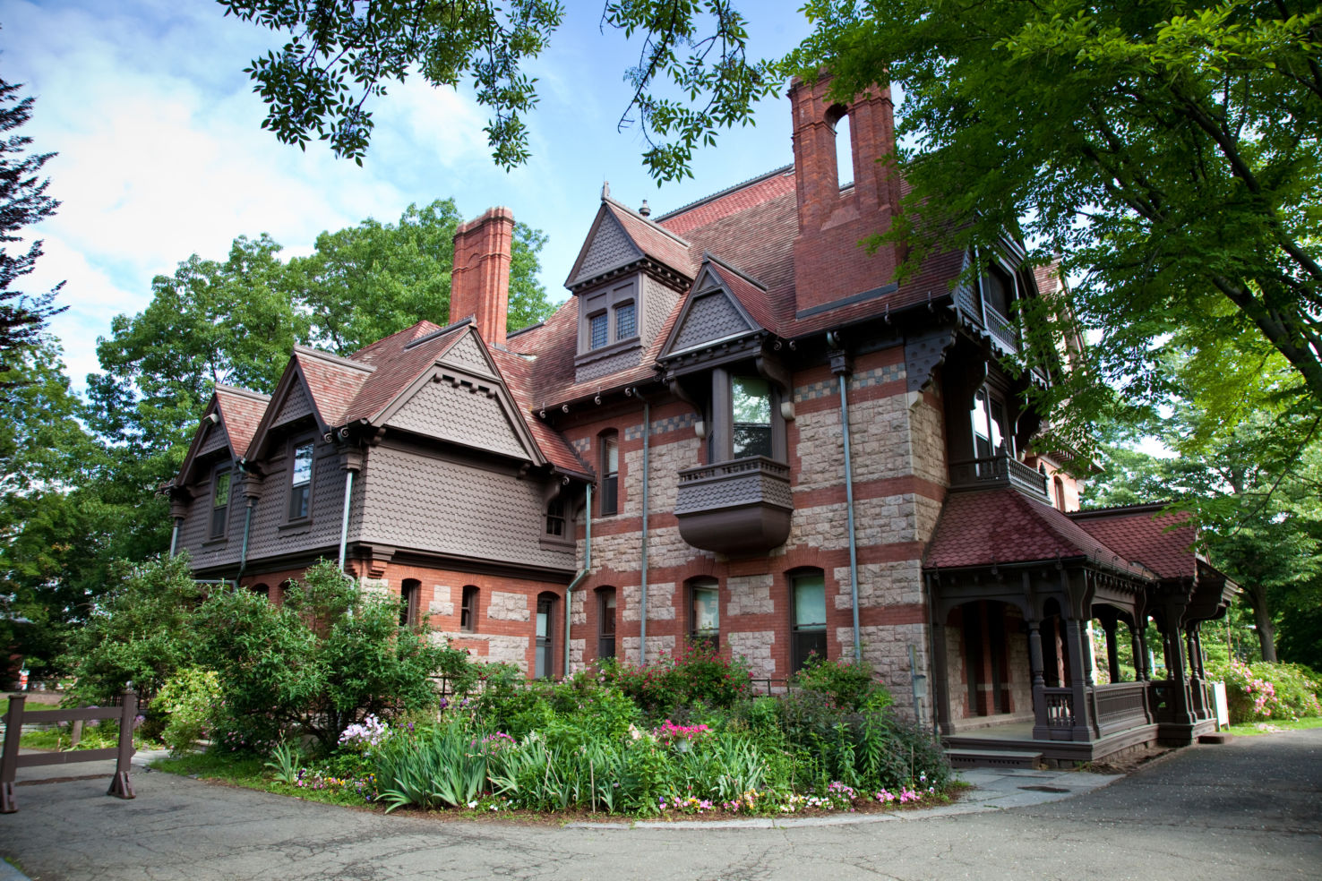 Mark Twain, Harriet Beecher Stowe, Katharine Seymour Day, Hartford, Connecticut