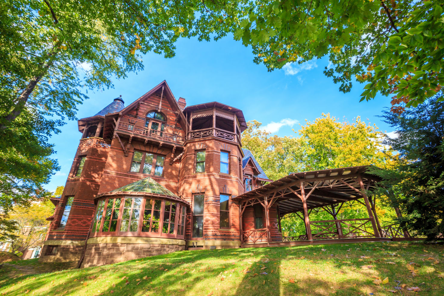 Mark Twain House and Museum, Samuel Langhorne Clemens, Hartford, Connecticut