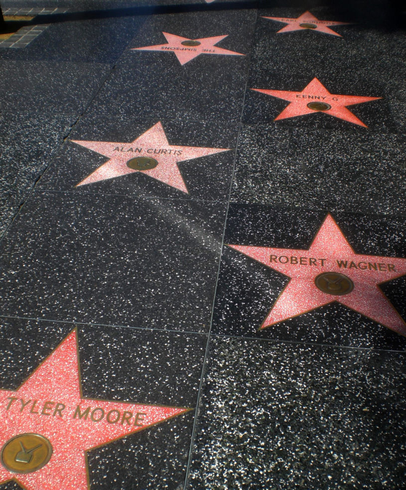 Stars on Hollywood Boulevard
