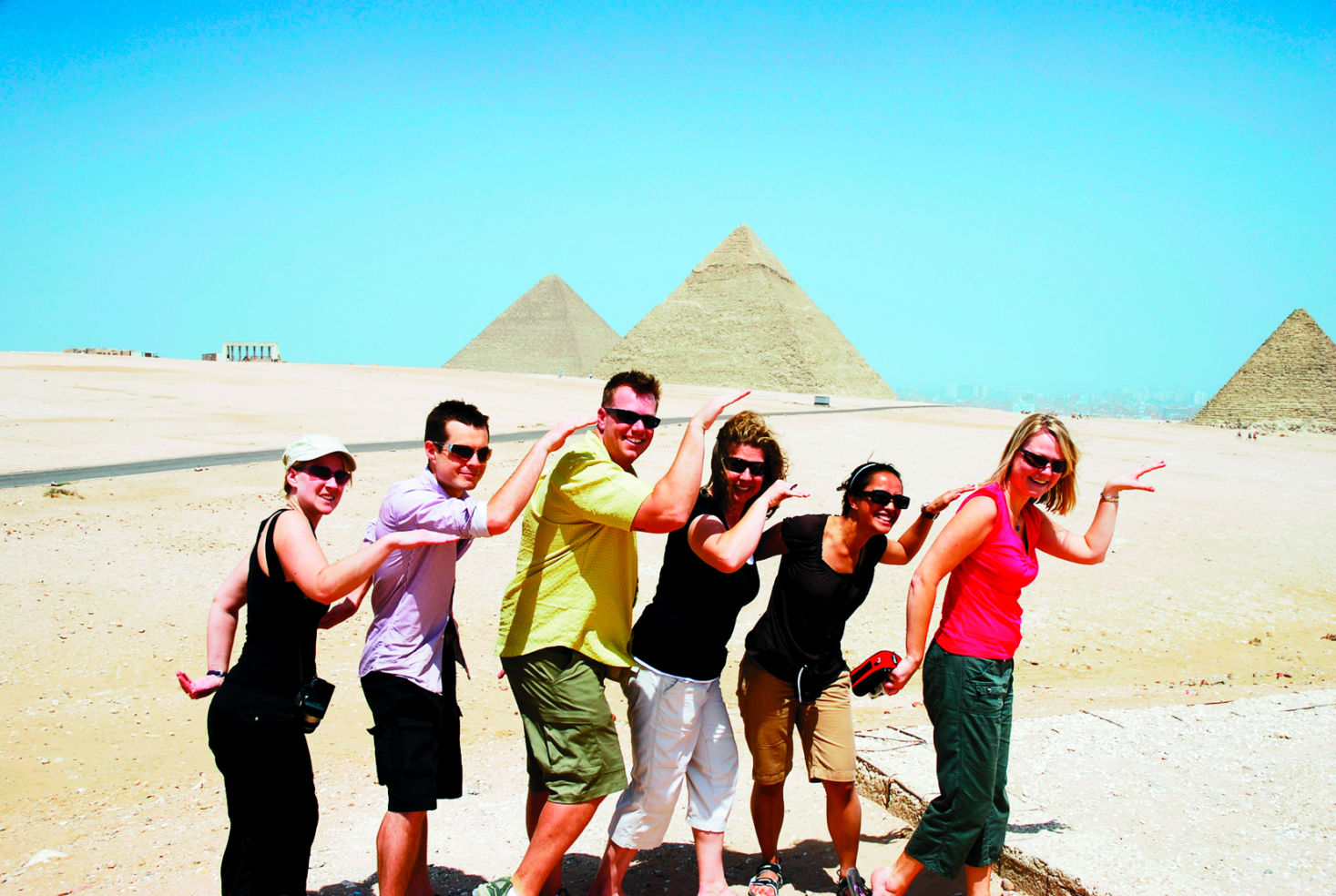 Pyramids group portrait