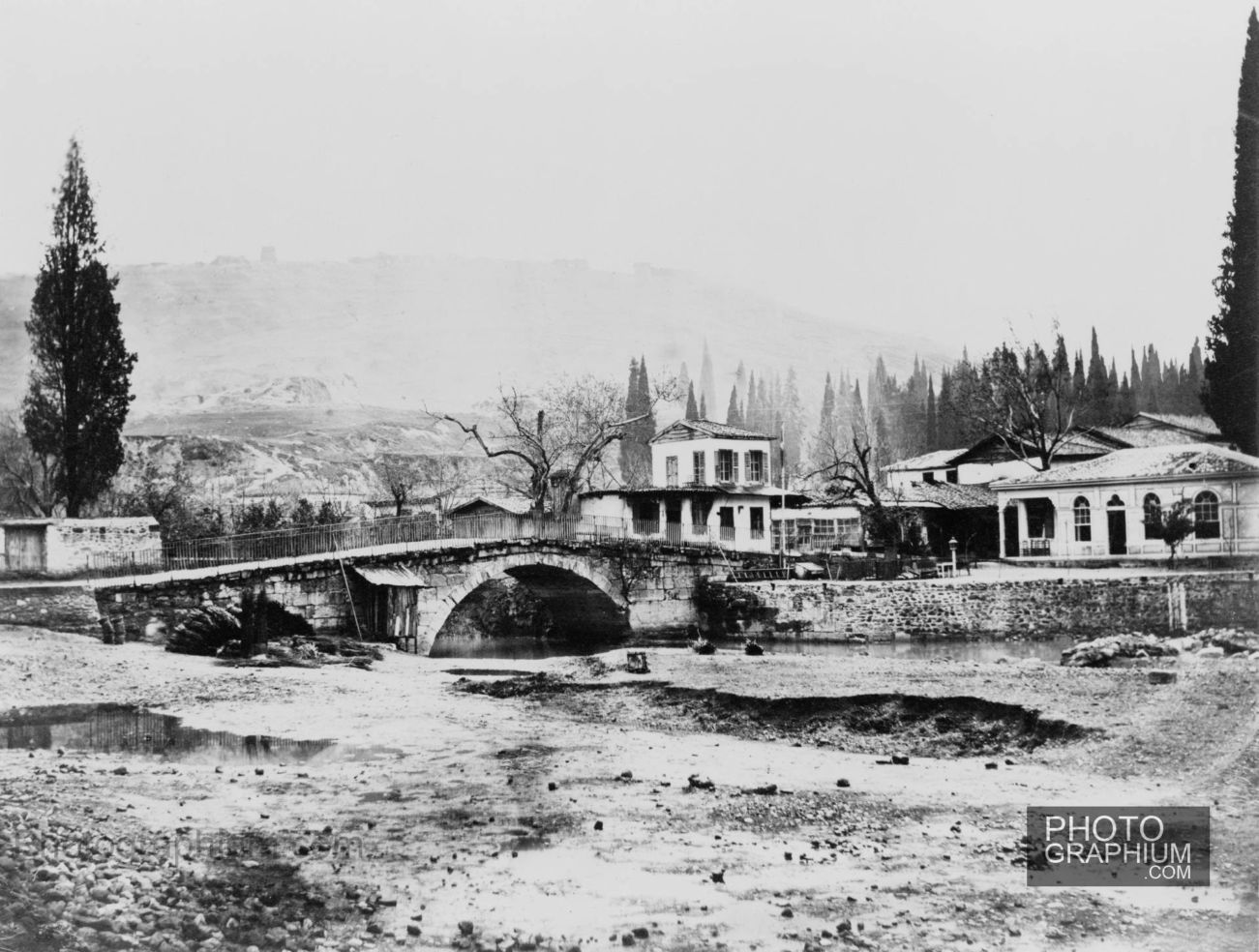 River Meles Bridge
