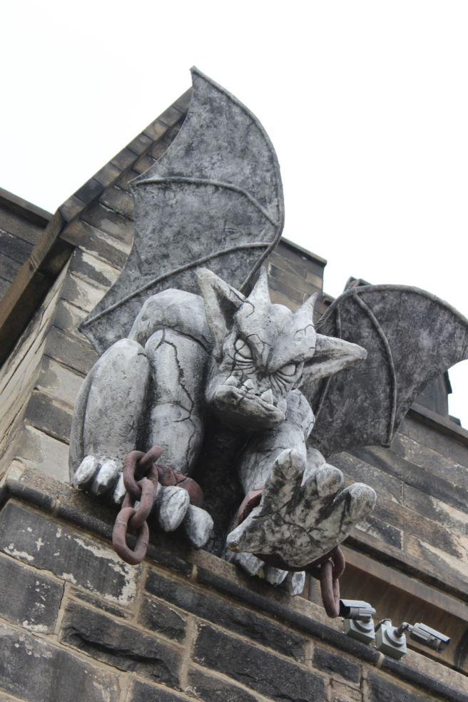 holy terrors gargoyles on medieval buildings janetta