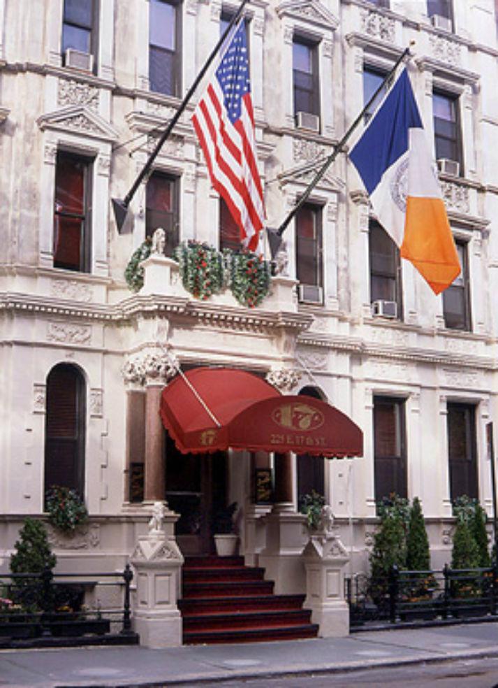 Hotel 17 exterior shot