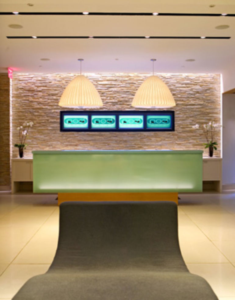 Pod Hotel lobby