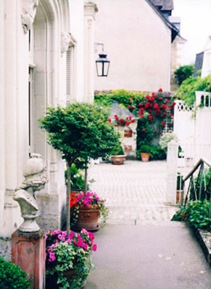 Le Clos d'Amboise is in the heart of the old market center of Amboise.