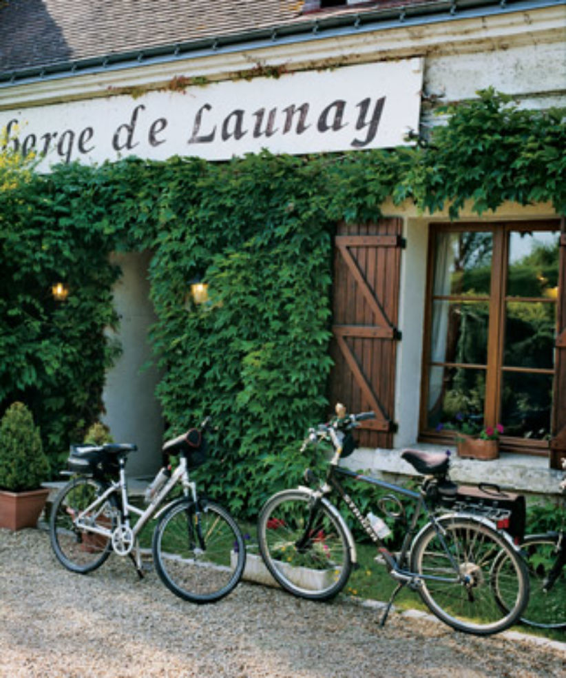 Auberge de Launay, in an old farmstead.