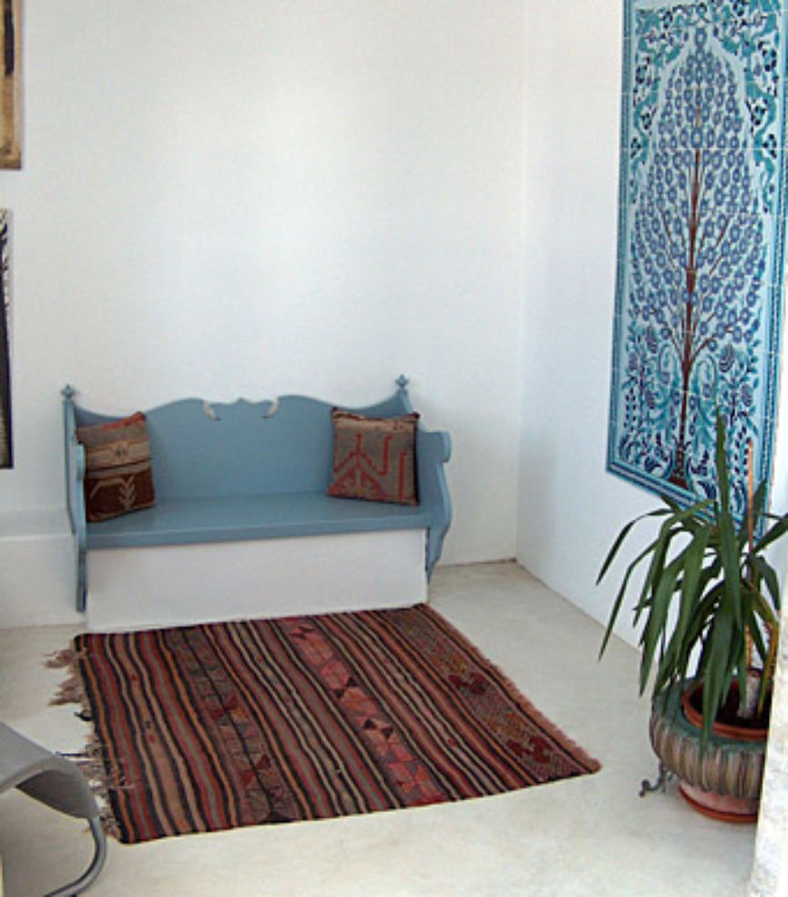 A common area in Heaven Naoussa.