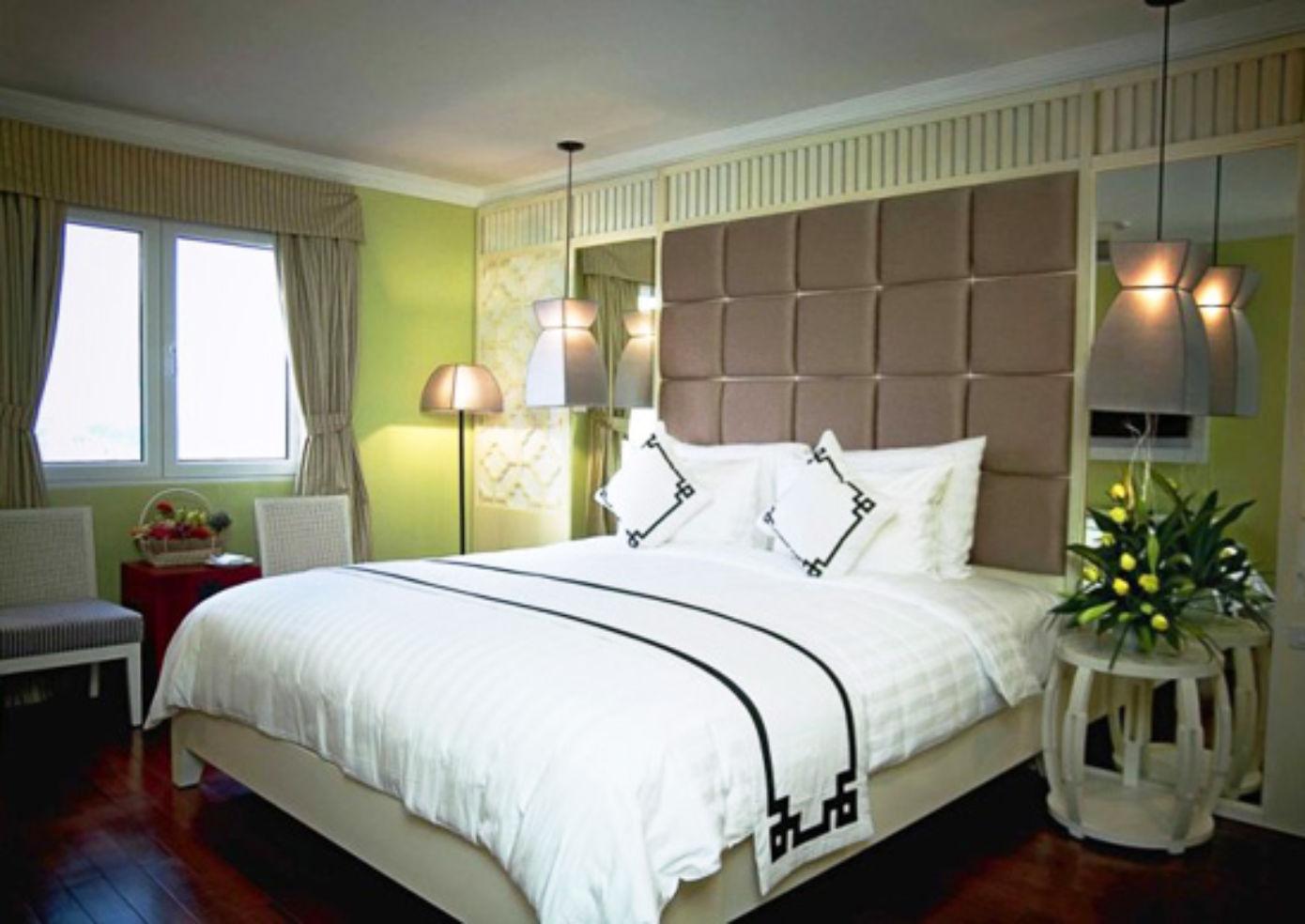 A suite at Maison d'Hanoi Hanova Hotel