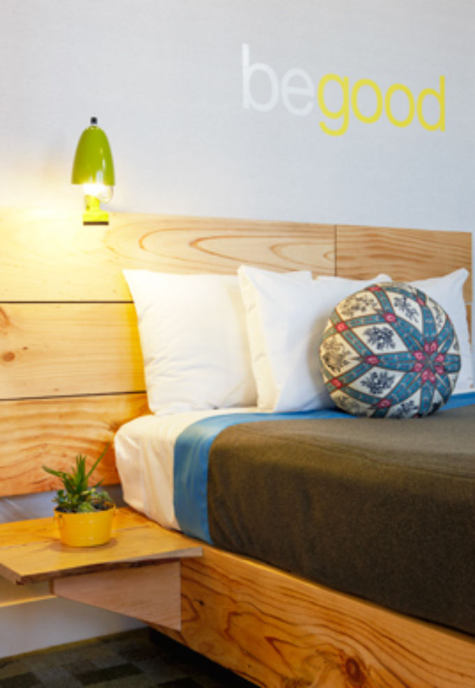 A double room at Good Hotel