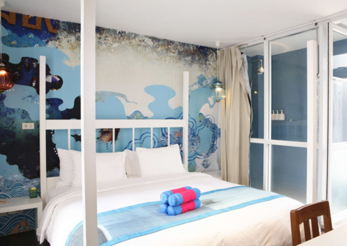 The Blue room at Seven hotel
