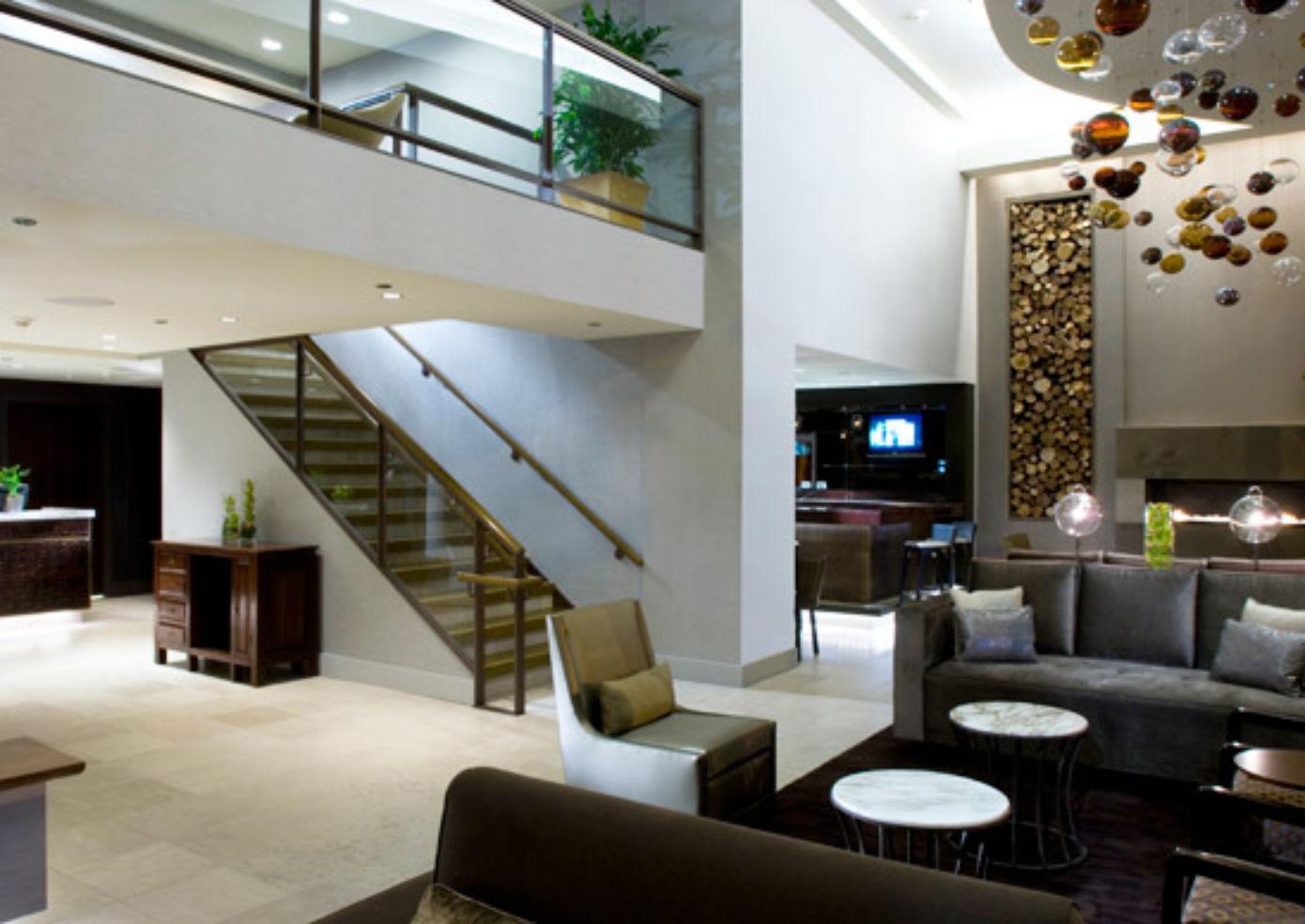The lobby at Hotel Felix