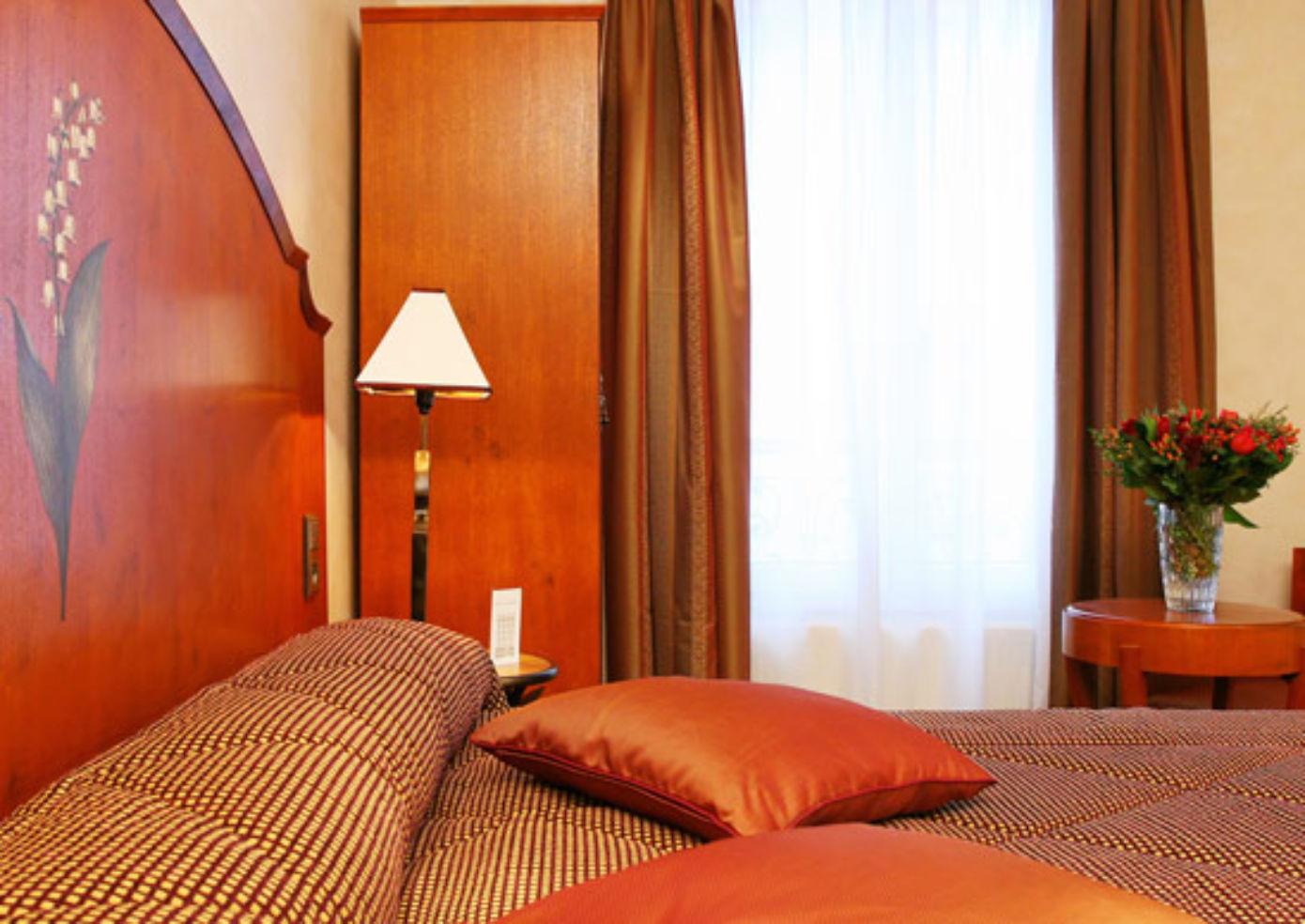 A room at Hotel Muguet in Paris