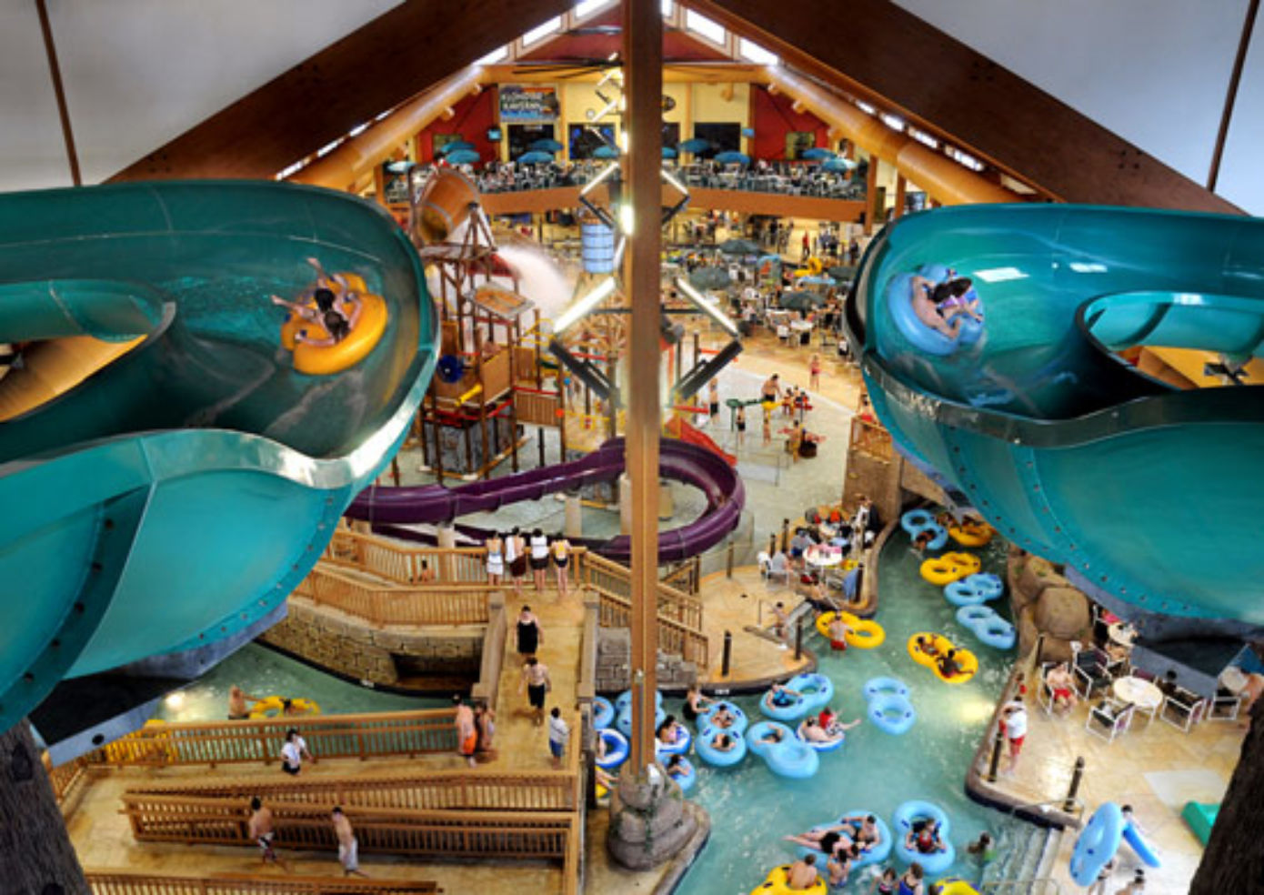 Photos: Top 10 Indoor Waterparks In The U.S.