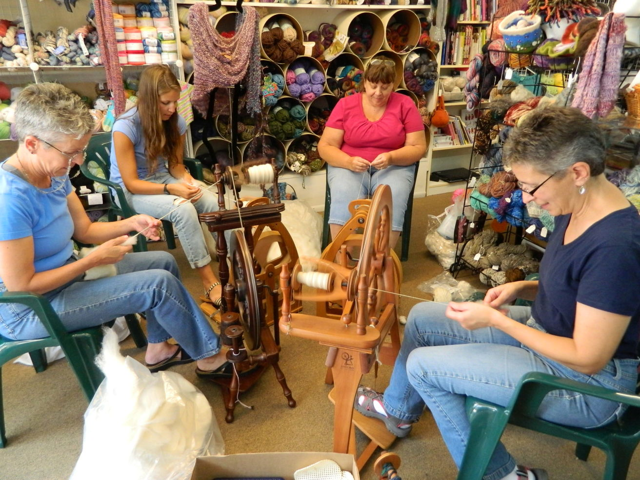 Circle of Friends yarn shop