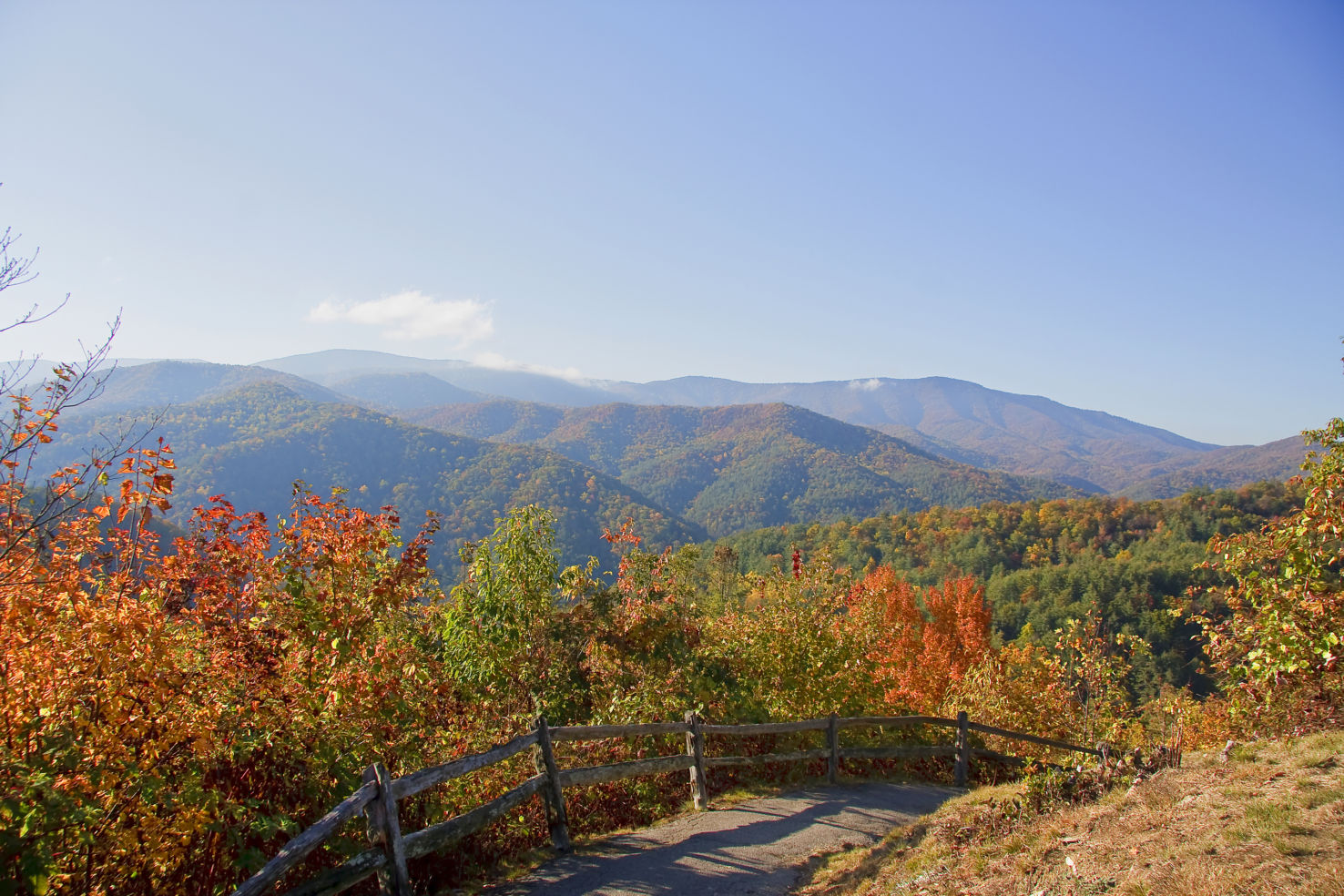 Blue Ridge Mountains close to Elkin, NC (CST Winner 2014) and Brevard, NC (CST Winner 2010)