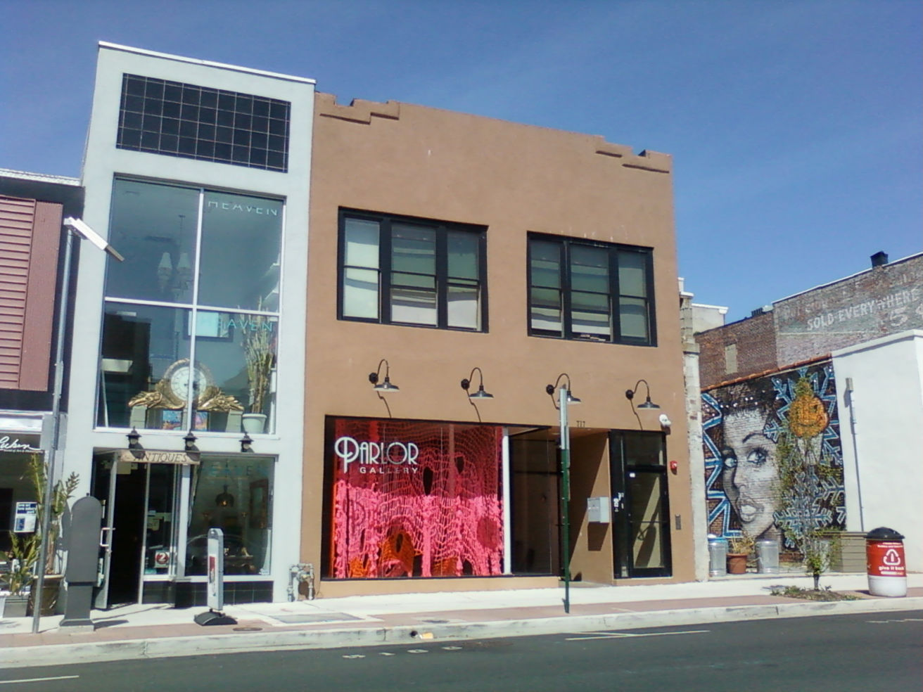 Parlor gallery, Asbury Park, NJ